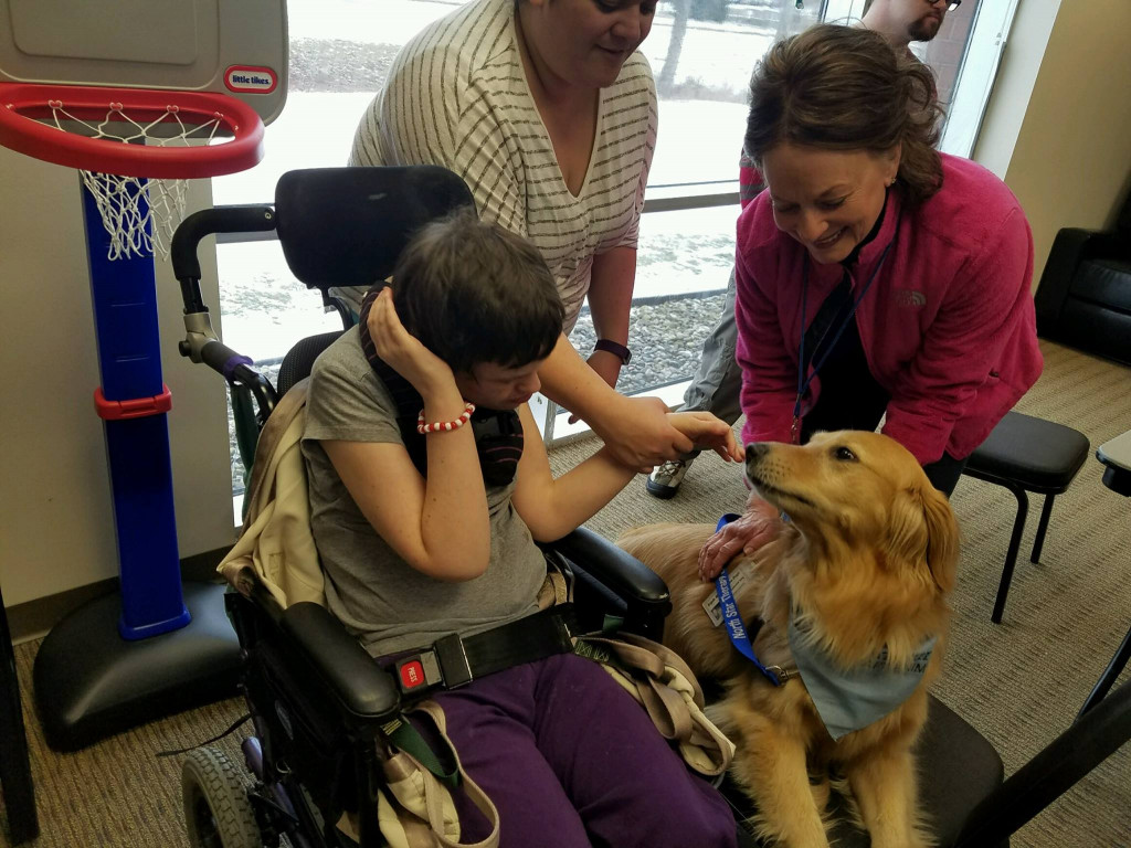 North Star Therapy Animals Visit Our Adult Day Services
