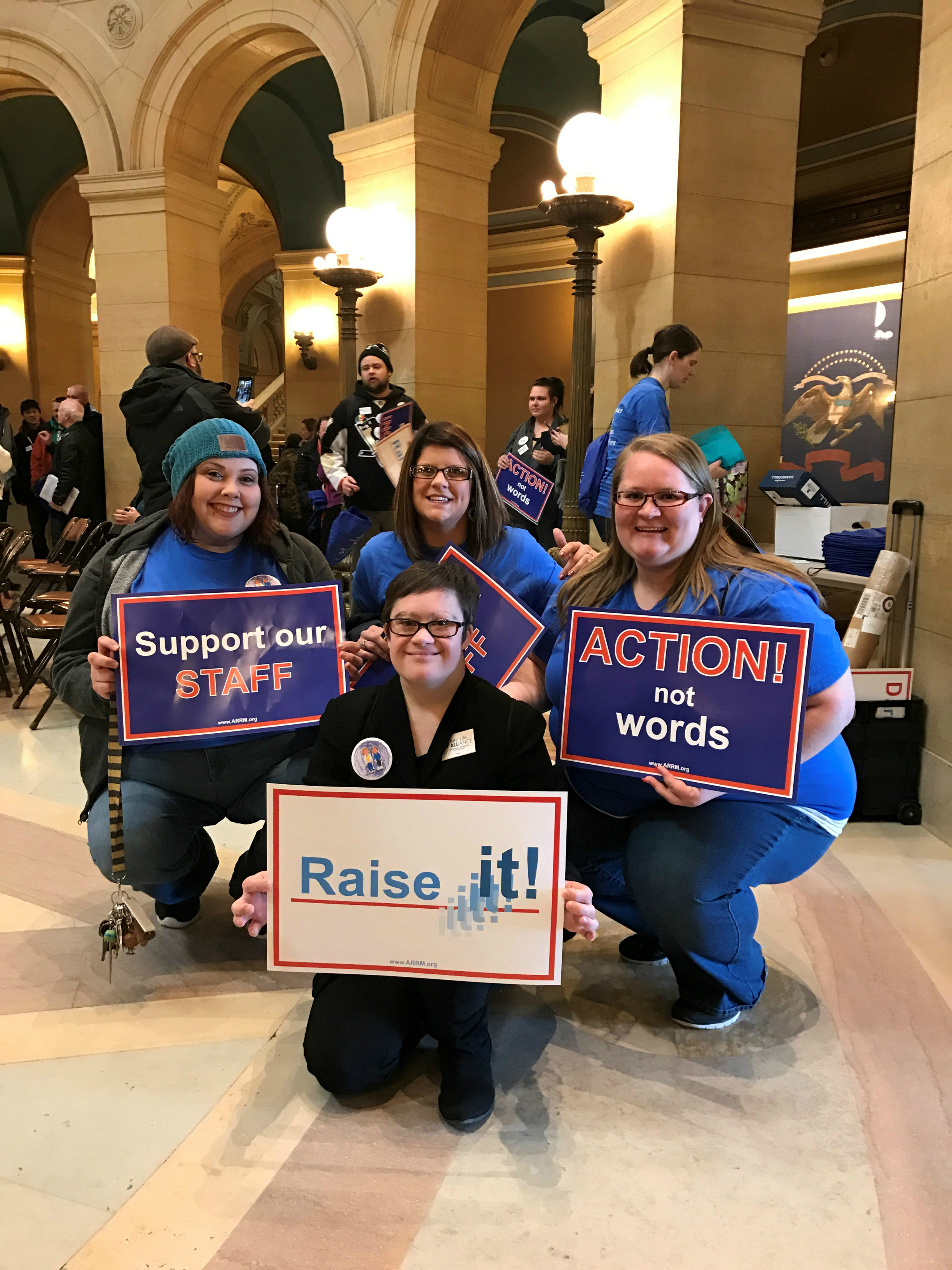 MORA Rallies at the Rotunda!
