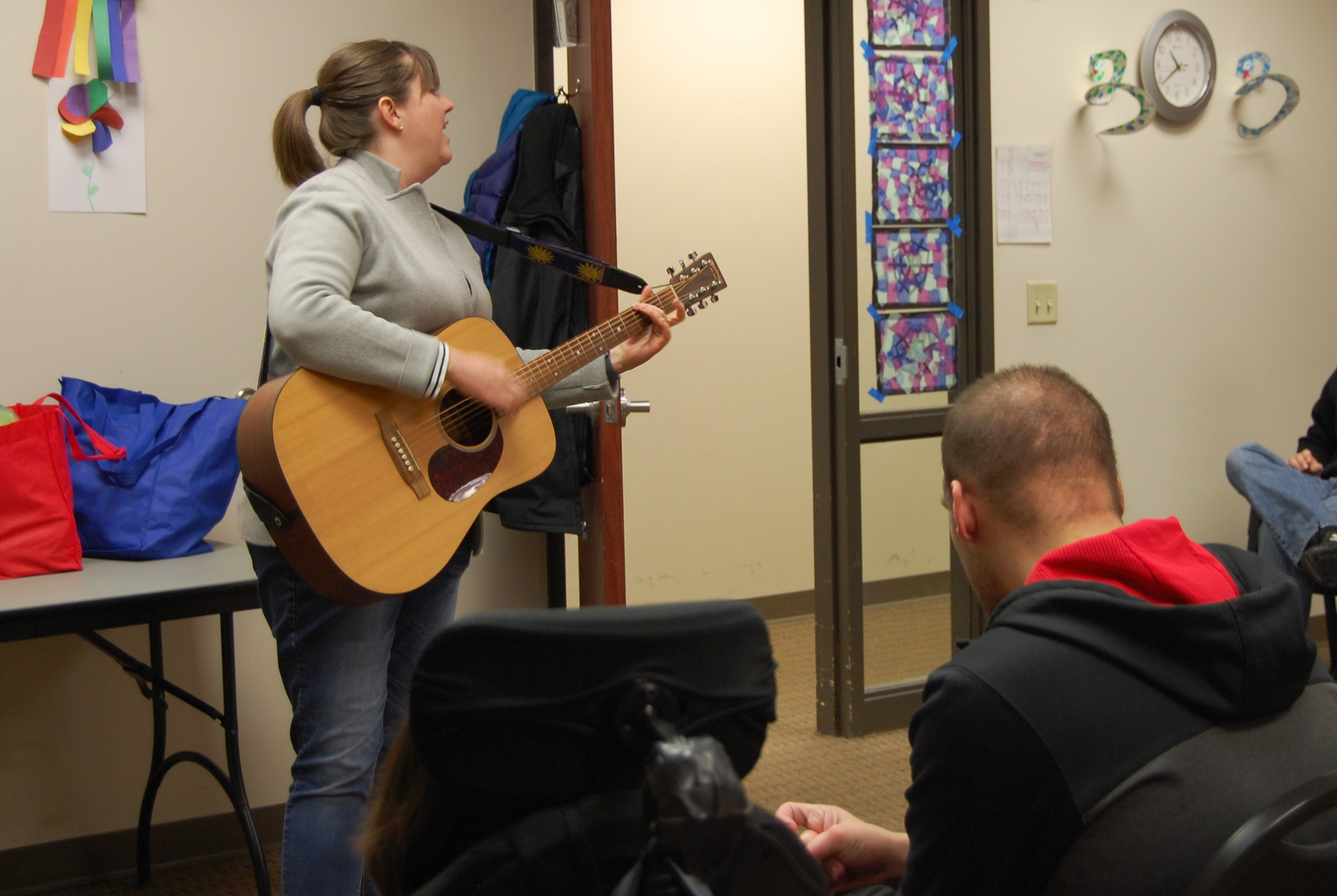 Music Therapy at ADS